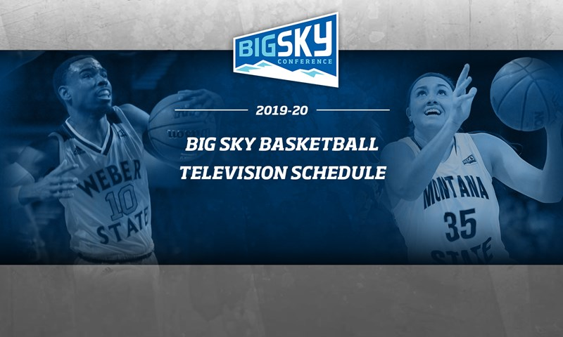 Big Sky Conference Announces Basketball Television Schedule