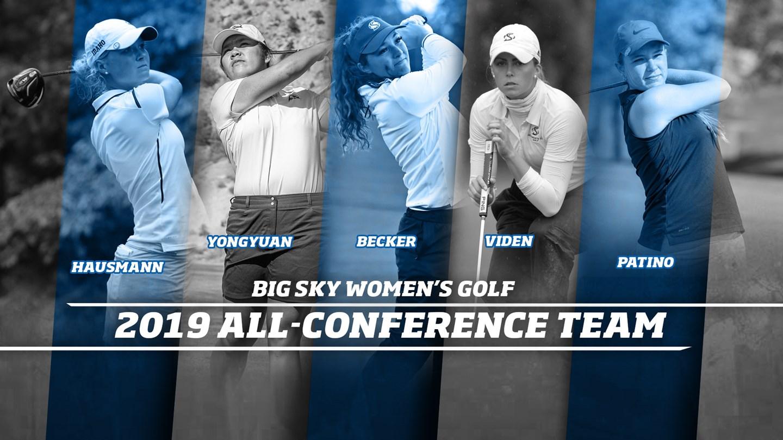 Hausmann, Yongyuan Headline All-Big Sky Women's Golf Honors - Big