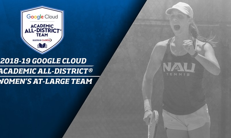 NAU's Lodewijks Selected to Google Cloud Academic All-District® At-Large Team